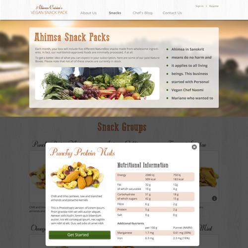 Diseño finalista de MK UI/UX/Web Design