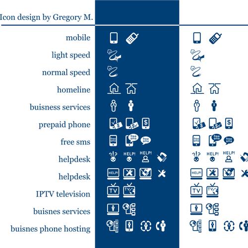 Design finalista por Gregory M