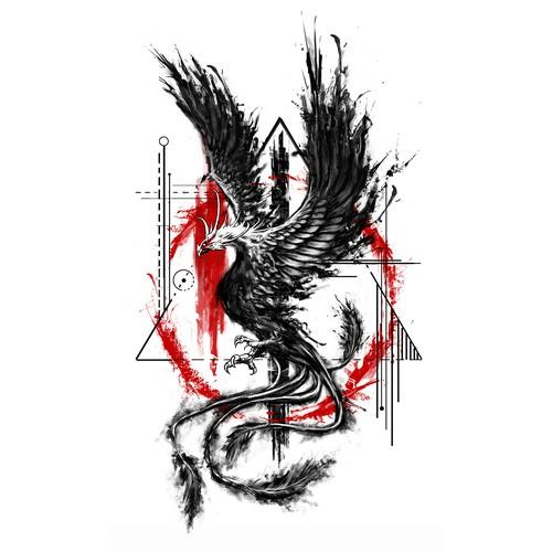 Phoenix Tattoo Tattoo Contest 99designs