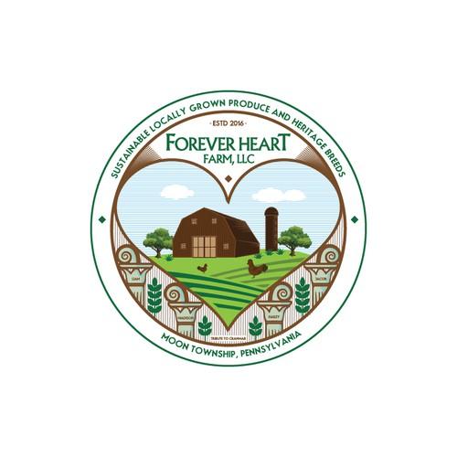 Small Organic Farm Needs Logo and Branding Design by Sathish Babu