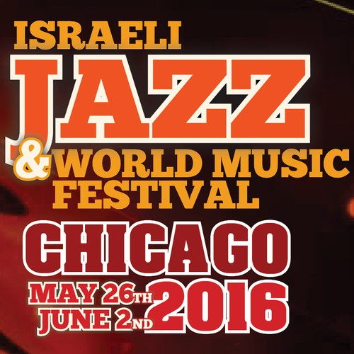Israeli Jazz and World Music Festival Design by Studio98.nl