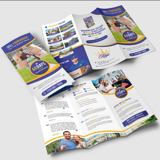 need professional real estate brochure for sellers brochure contest