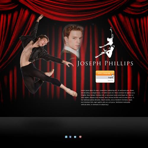 Diseño finalista de webdesigncut