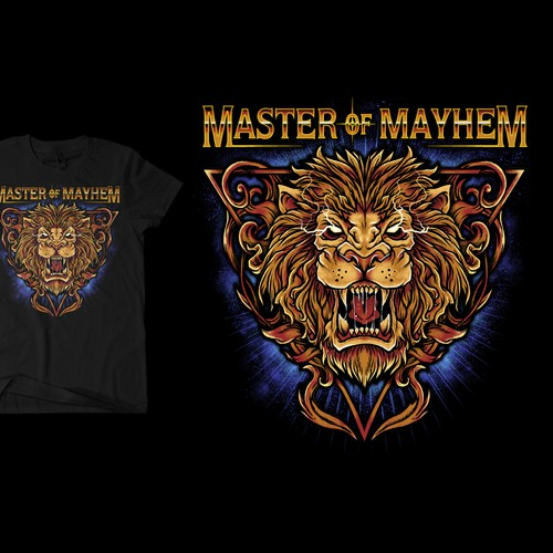 Master of mayhem - illustration needed for a t-shirt Design by Black Arts 888