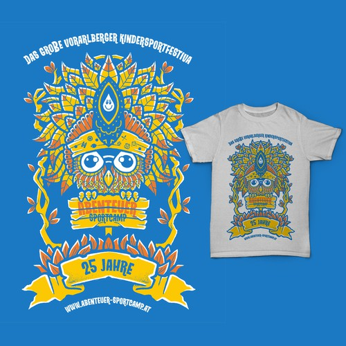 Create a cool summer sports camp shirt for 3000 kids (age 6-12) Design by Monkeii