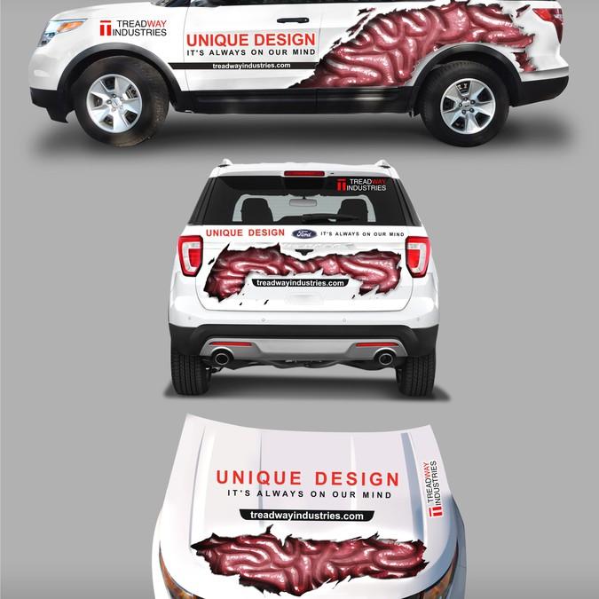 Design vencedor por StudioGrafico™Wraps