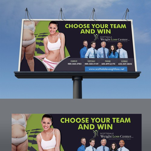 Weight Loss Billboard Signage Contest