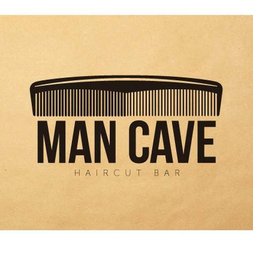 Man Cave Haircut : New logo wanted for the man cave haircut bar design