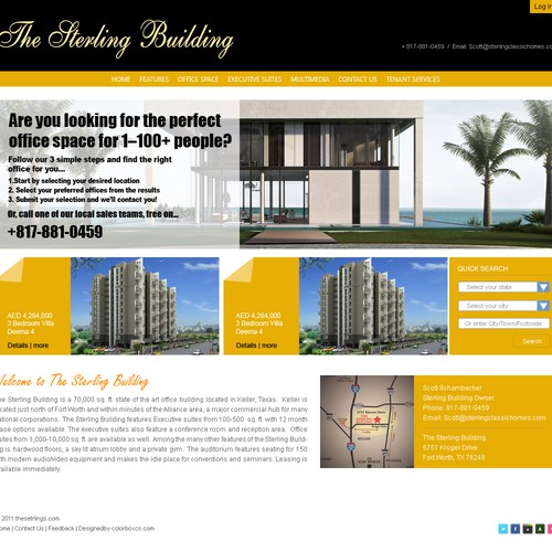 Runner-up design by colorbox