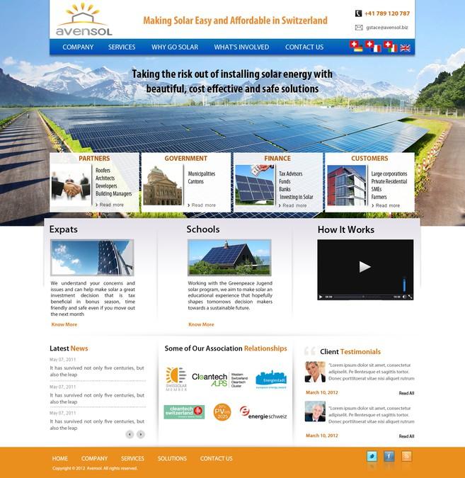Diseño ganador de WebXpert