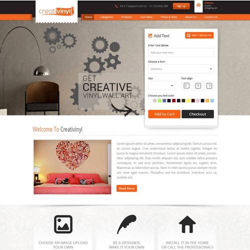 Ontwerp van finalist Gowebbaby.com