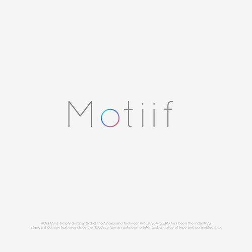 Logo for motiif logo design contest runner up design by makdezign14 ccuart Choice Image