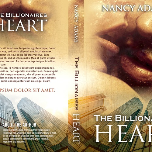 Create Appealing Romance Cover for New Billionaire Romance Trilogy! Design by L1graphics