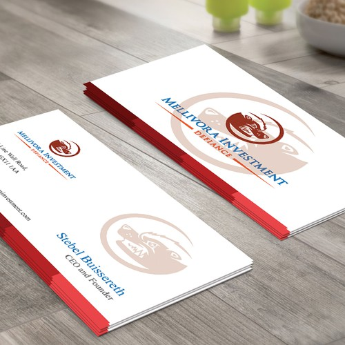 Ceo business card business card contest runner up design by designer st colourmoves