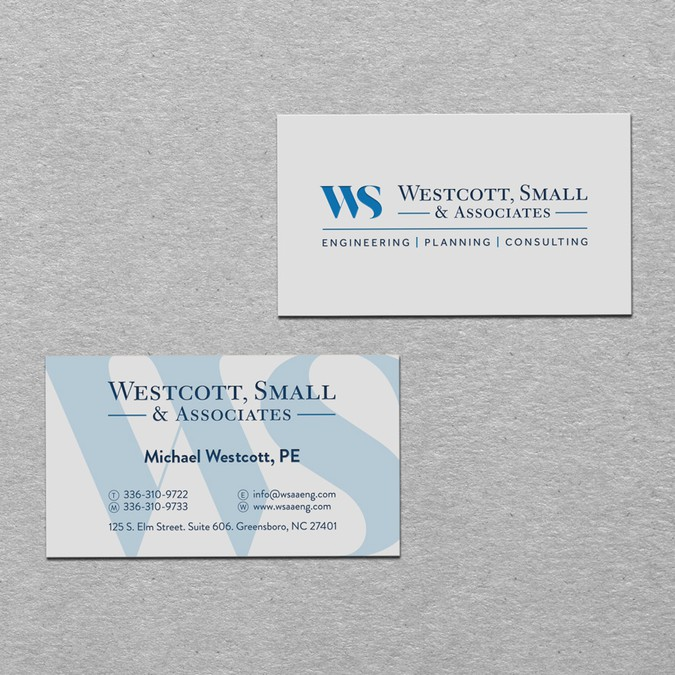 Rebranding a civil engineering firm logo business card contest winning design by sawa design reheart Image collections