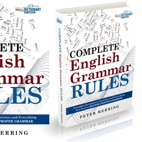 English Grammar Book Cover Design : Design a cover for modern english grammar guide book