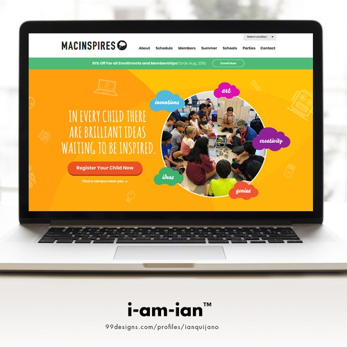 Runner-up design by i-am-ian™