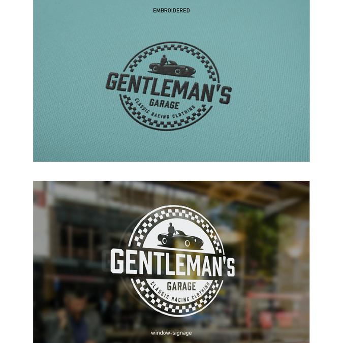Gentleman S Garage : Classy heritage logo design for the gentleman s garage