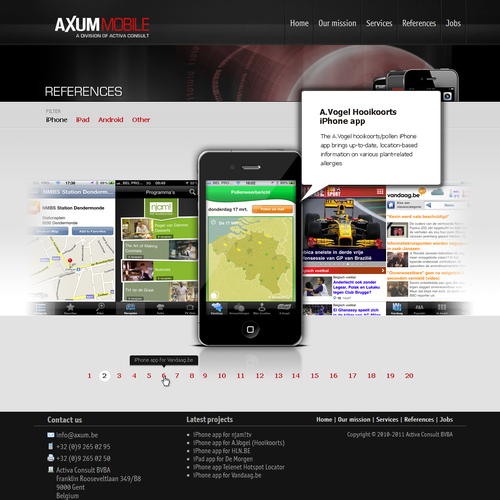 Design finalista por Gdesigns