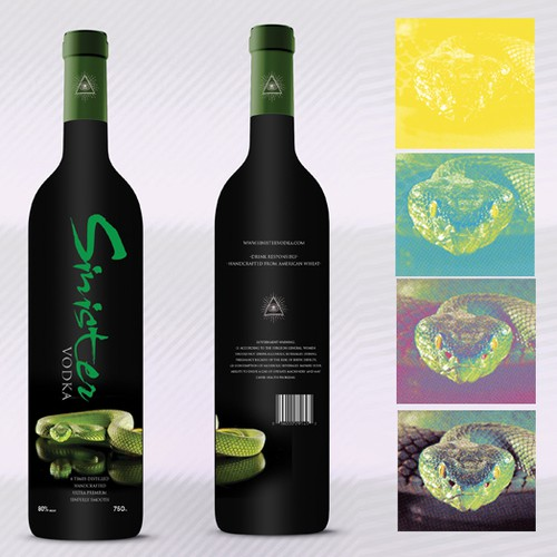 Runner-up design by frannizom