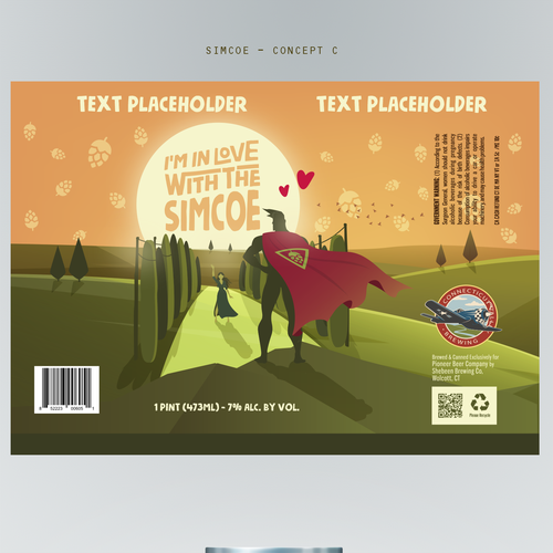 Design a can wrap for our Brewing Company's newest beer! Design by Lucadia