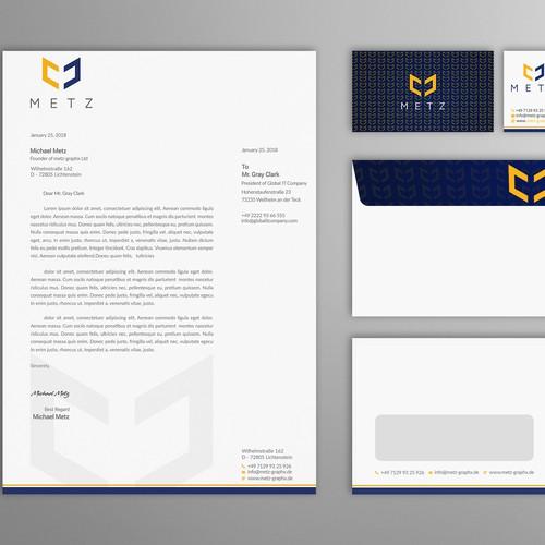 Runner-up design by Evanto