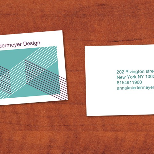 Create a beautiful designer business card Design by george.f