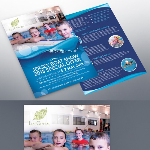 Family Resort Needs Double Sided A5
