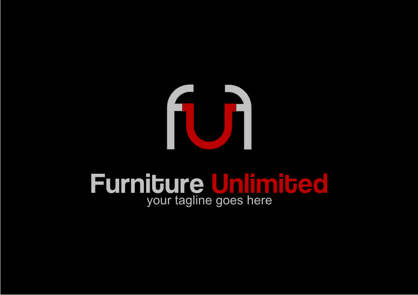 Furniture unlimited needs a one of kind logo inviting for Furniture unlimited