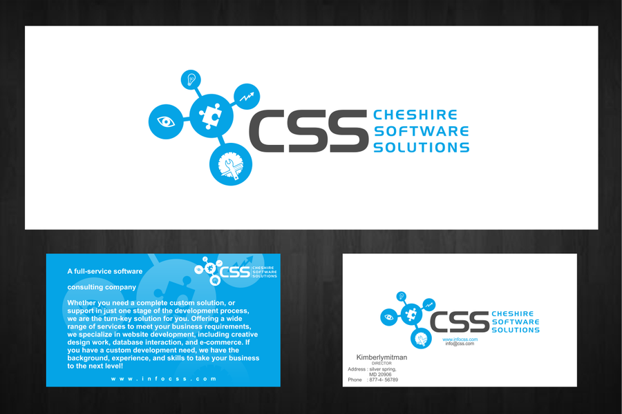 Create The Next Logo And Business Card For Css Logo Und