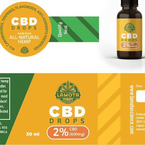 CBD Product Labels (Marijuana Industry) | Product label contest