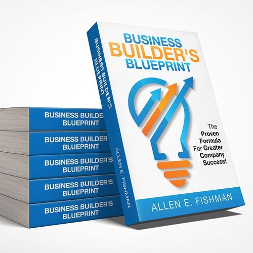 Business builders blueprint book cover design concurso portada diseo finalista de saqikts malvernweather Choice Image