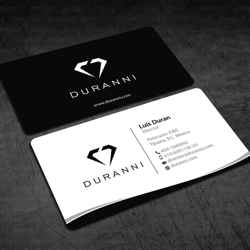 Luxury clothing brand needs business cards and letterhead ...