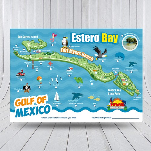 Kid Friendly Map Of Fort Myers Beach
