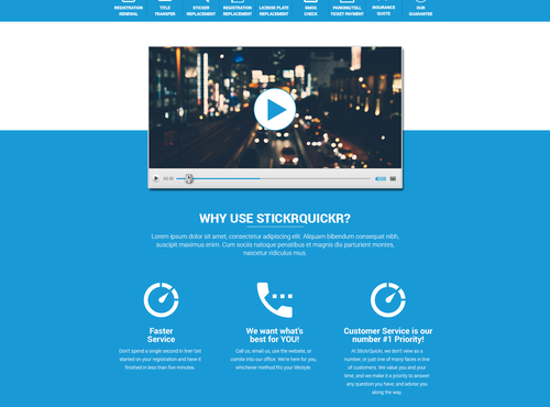 web page design in  - 8