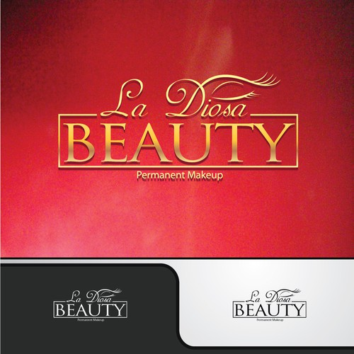Beautiful logo for Permanent Makeup Business/ Beauty