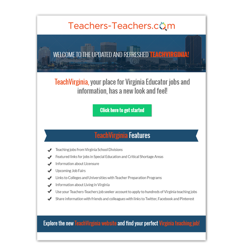 creating an html email template - create html email template flyer for edtech company