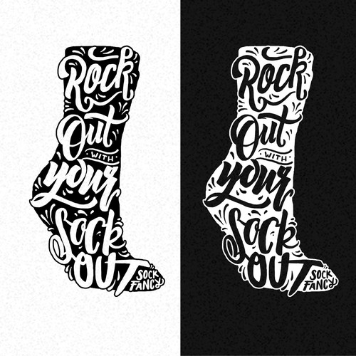 Tagline Design for Sock Company Ontwerp door rohmankind