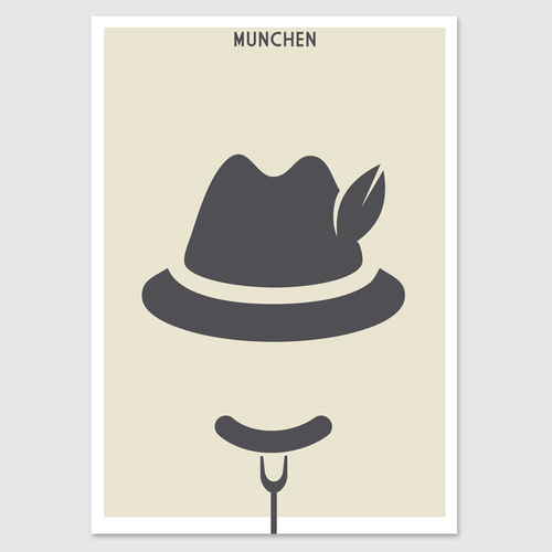 99d Community Contest: Create a poster for the beautiful city of Munich (MULTIPLE WINNERS!) Design by Kovalski