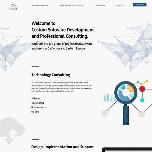 Runner-up design by Technologies33