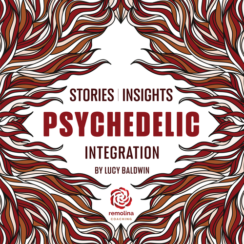 Psychedelic Podcast Cover!! Look for something trippy that POPS. Design by zbt