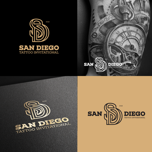 Design A Sophisticated Logo For The San Diego Tattoo Invitational