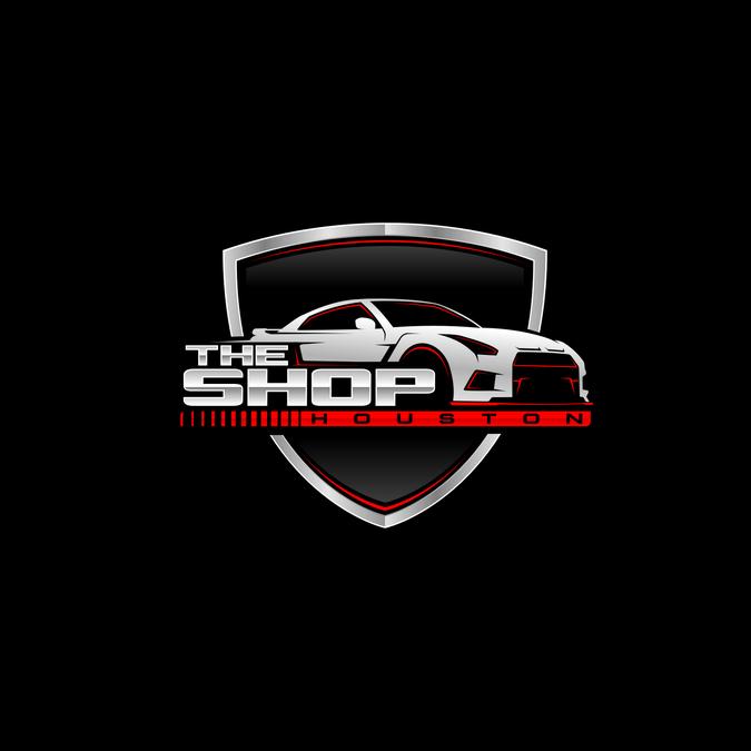 Make our automotive performance shop logo more BADA