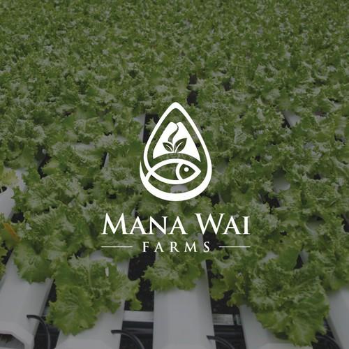 Hawaiian aquaponics company - design a modern logo Design by AuraWijaya