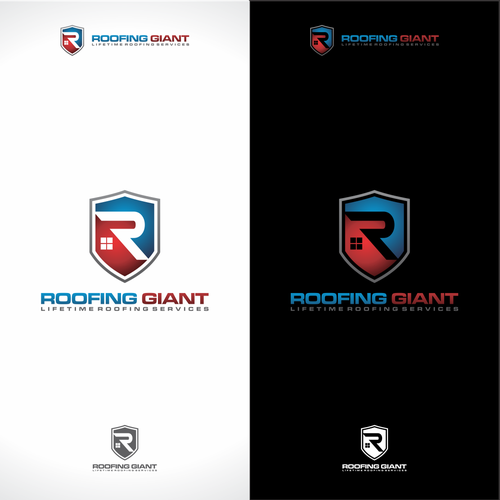 Logo Design For Roofing Giant Logo Design Contest 99designs