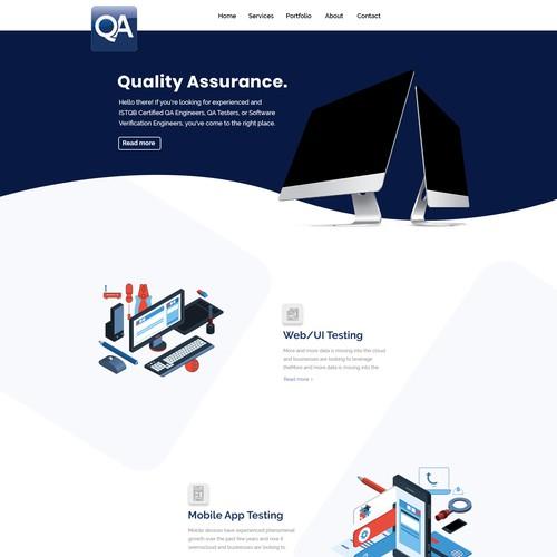 Runner-up design by Web & Graphic Studio