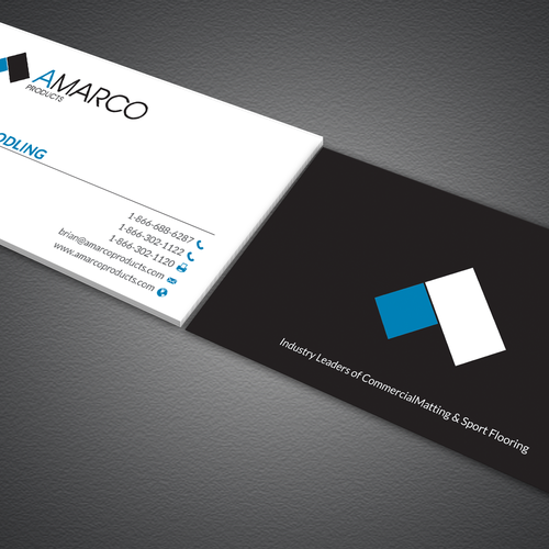 buisness card layout