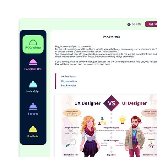 Diseño finalista de Iconisty