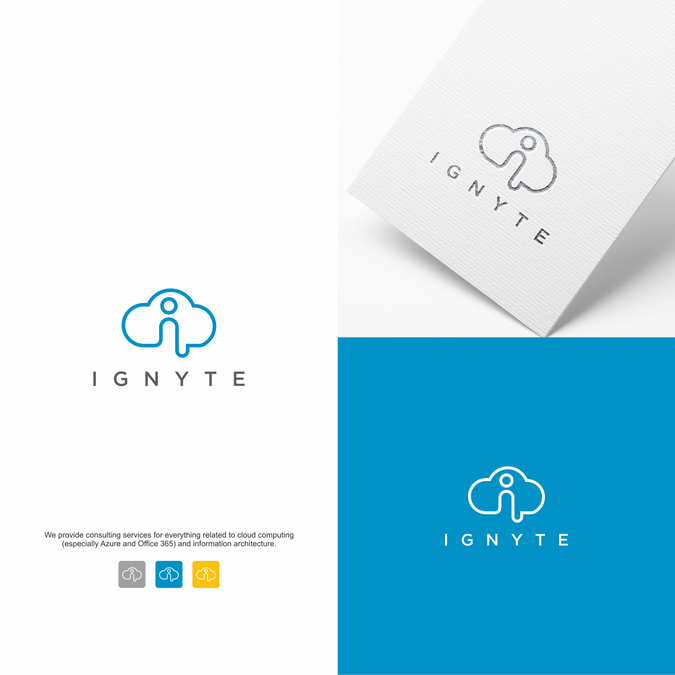 logo for cloud consultancy logo brand identity pack contest