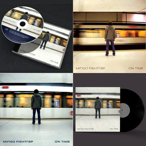 Create album art for Mingo Fishtrap's new release. Design by danc